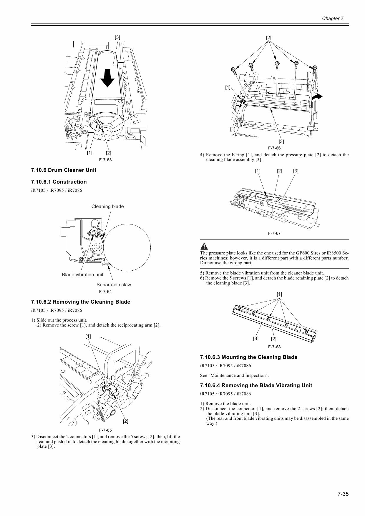 Canon imageRUNNER-iR 7105 7095 7086 Service Manual-3